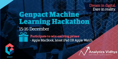 Genpact Machine Learning Hackathon